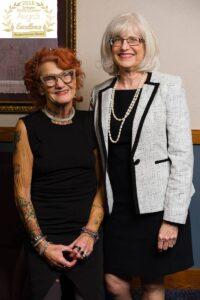 Kathy Thomson and Sunshine