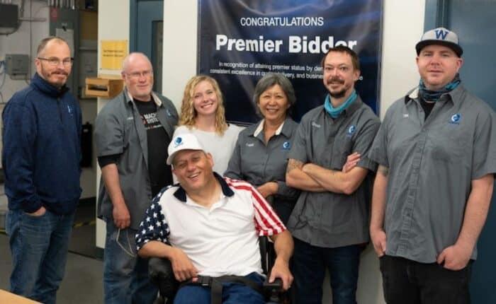 Chinook Attains Premier Bidder Status